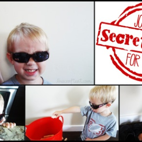 Brincar aos agentes secretos «simpáticos»!